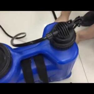 HOW TO INSTALL THE BACKPACK SPRAYER