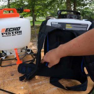 Kobalt 40v max backpack sprayer