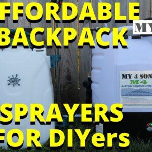 Best Backpack Sprayer? Best Backpack Sprayer for DIYers #my4sons #spraymate