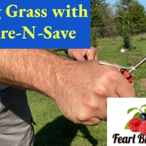 How to kill Grass using Compare N Save and Harbor Freight Backpack Sprayer