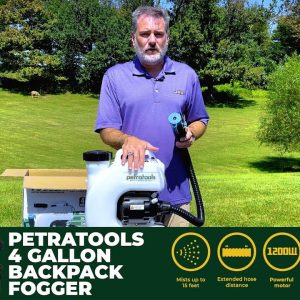 PetraTools Backpack Fogger Starter Guide | How To Use The Best Fogger [2021]