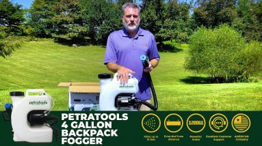 PetraTools Backpack Fogger Starter Guide   How To Use The Best Fogger [2021]