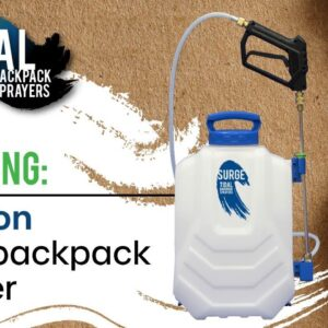 Unboxing a TIDAL Backpack Sprayer (SURGE - 4-Gallon)