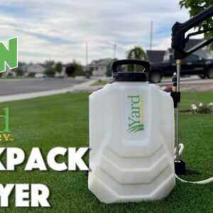 Yard Mastery Backpack Sprayer Review