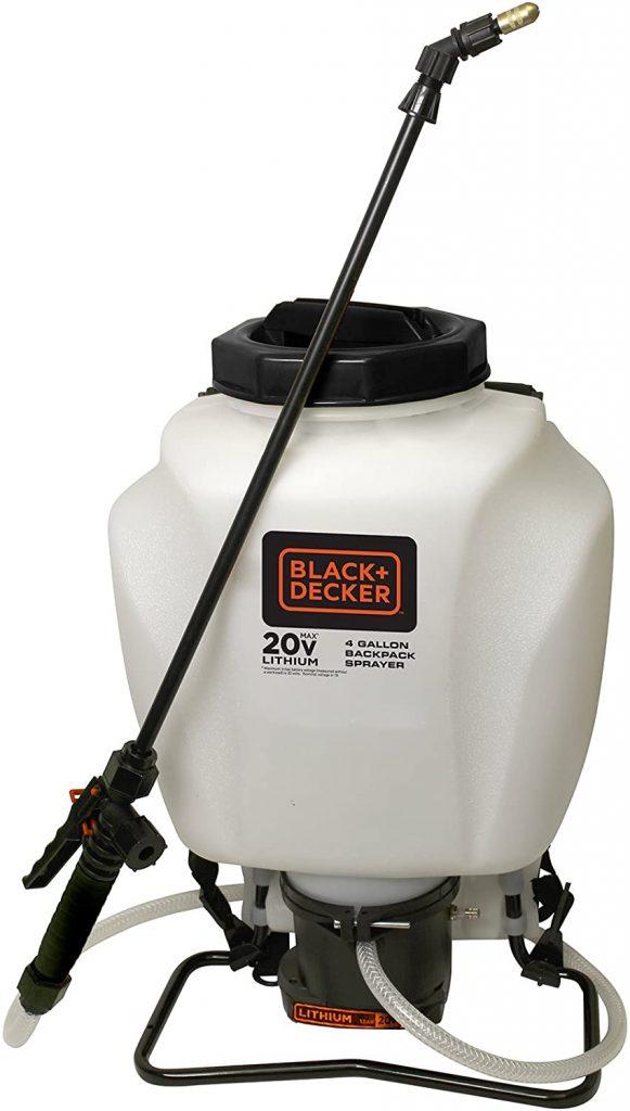 Black and Decker 20V Backpack Sprayer review