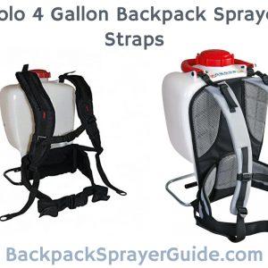 Solo 4 Gallon Backpack Sprayer Straps deluxe vs pro