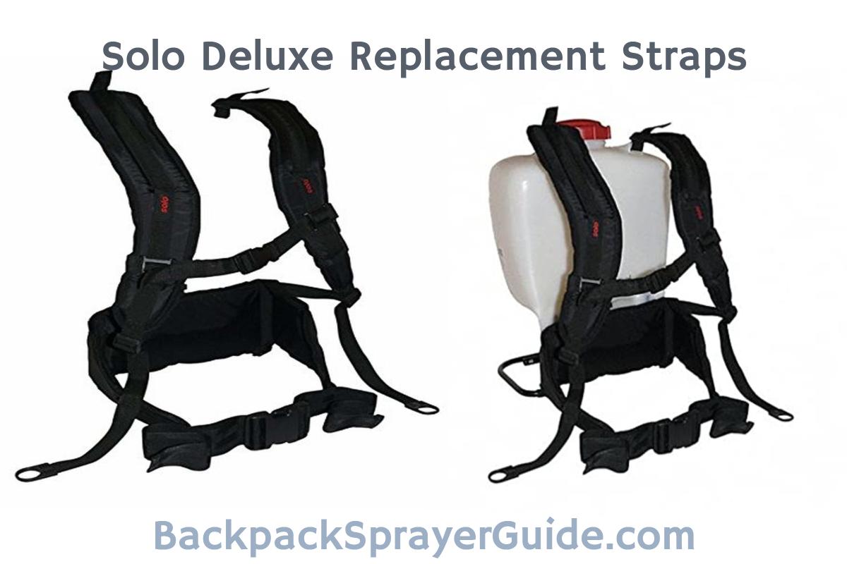 Solo 4 Gallon Backpack Sprayer Straps