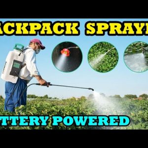Battery Powered KIMO Backpack Sprayer for Gardens, Weeds, Misting, Fertilizing & Cleaning. Review