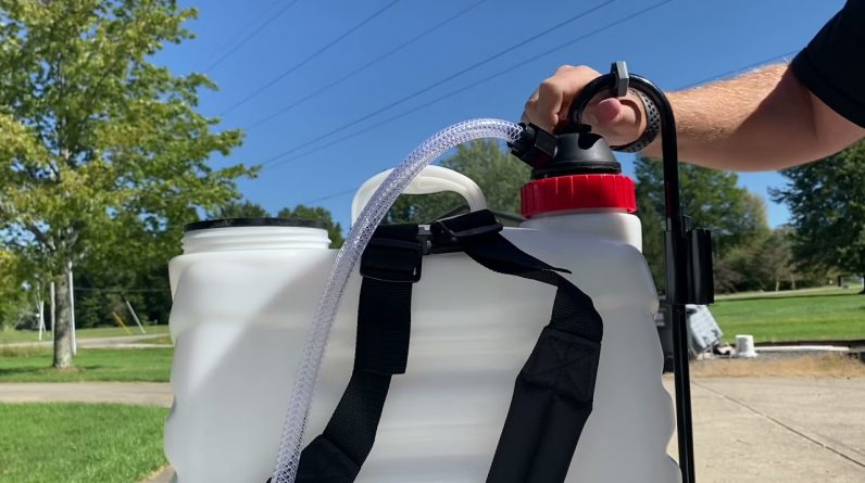 Chapin 61500 Backpack Sprayer Review and Setup #Chapin #Review #Sprayer