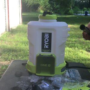 Full review of the Ryobi backpack sprayer