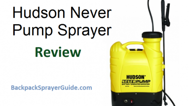 hudson never pump backpack sprayer review