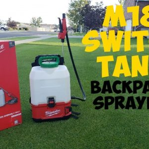 Milwaukee M18 Switch Tank 4 gallon backpack sprayer review | Turfgrass Pro liquid fertilizer app
