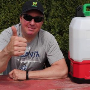 MILWAUKEE SWITCH TANK BATTERY POWERED BACKPACK SPRAYER REVIEW