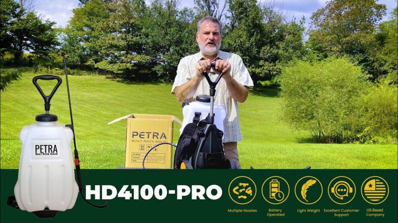 PetraTools HD4100 Starter Guide | Best 4-gallon Cart and Backpack Sprayer (2021)