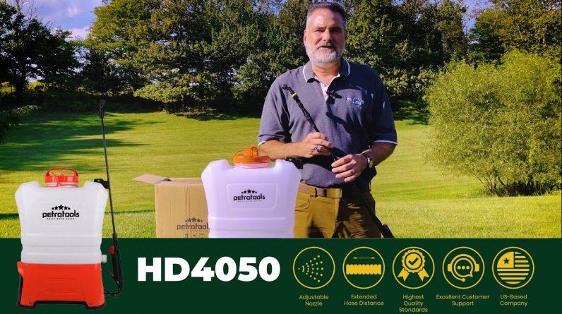 PetraTools HD4050 Starter Guide | Best 4 Gallon Backpack Sprayer (2021)