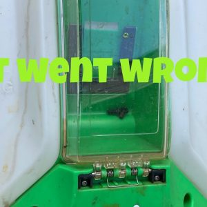 Strom battery backpack sprayer crashes after only 1 year